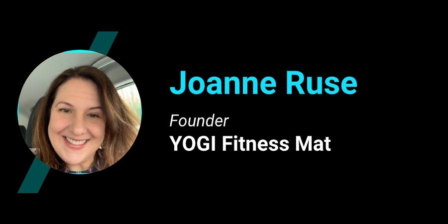 YOGI Fitness Mat Joanne Ruse