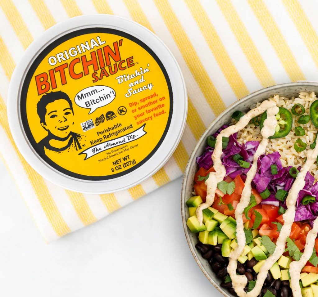 Bitchin' Sauce San Diego Almond Dip